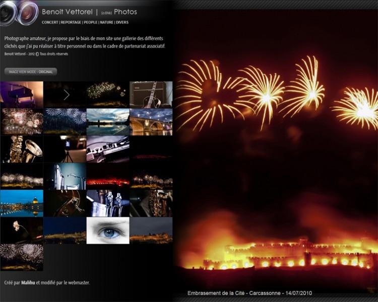 """Nouvelle rubrique du site : la partie """"photo"""""""